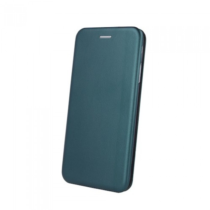 SAMSUNG A21S ХОРИЗОНТАЛЕН ФЛИП ELEGANCE DARK GREEN